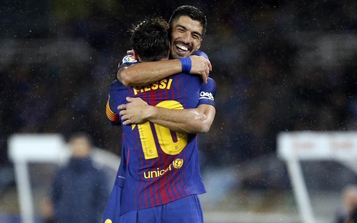 INFORME DEL PARTIDO: Real Sociedad - FC Barcelona: Emocionante remontada (2-4)