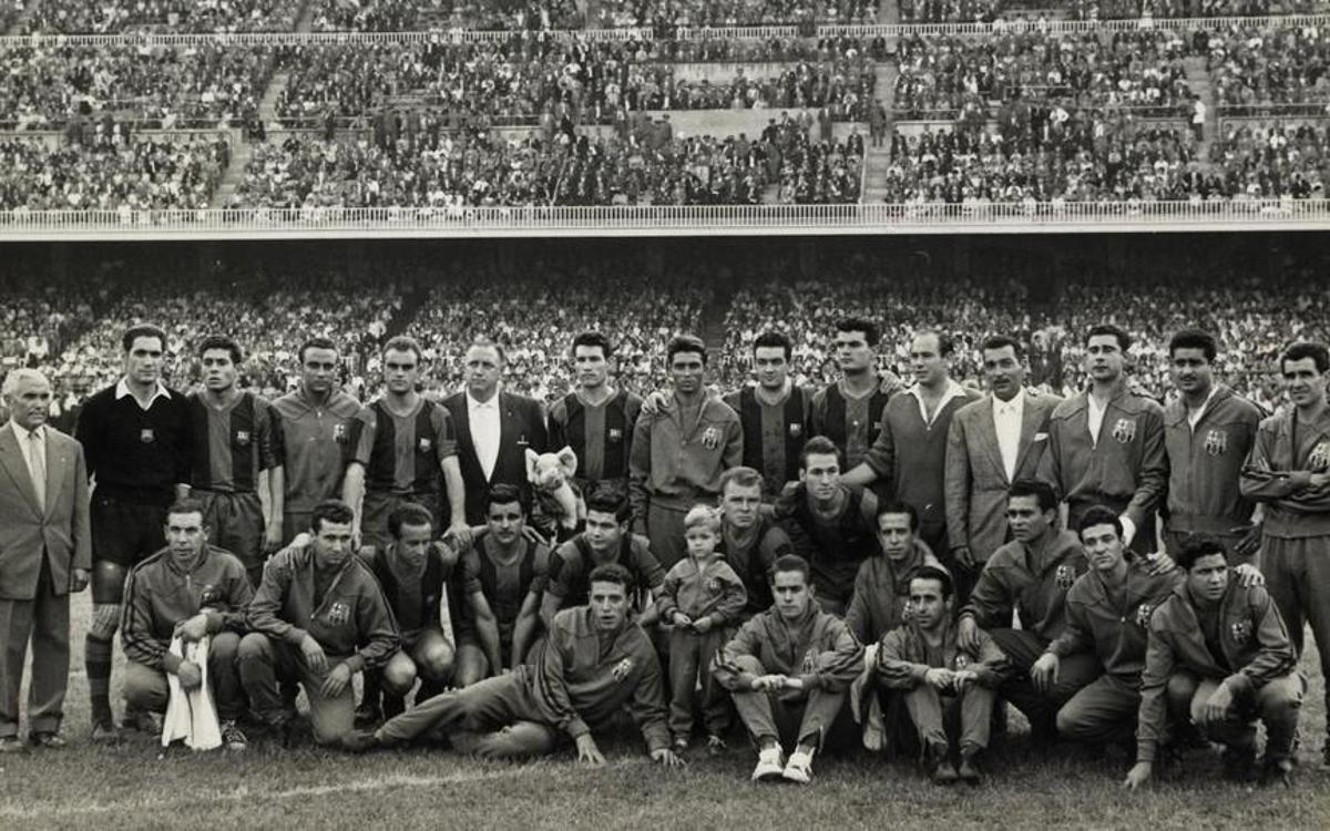1950-61. Kubala i el seu temps