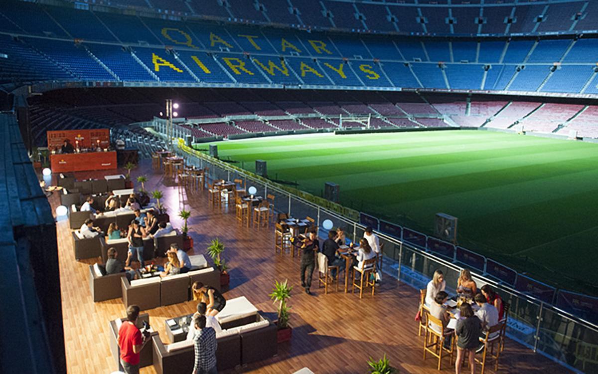 Le lounge du Camp Nou