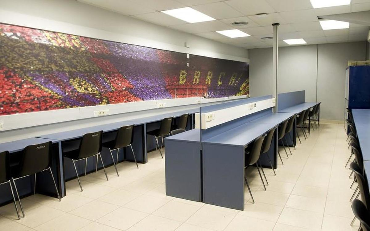 Photographers Room - Camp Nou