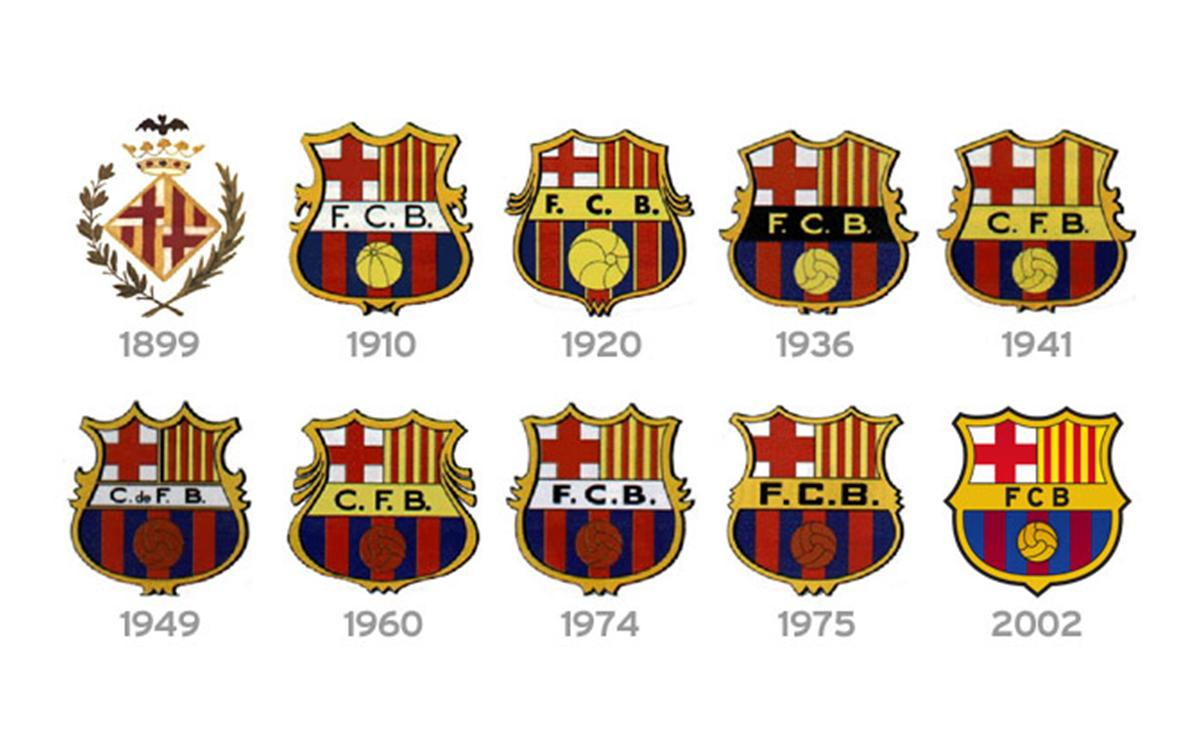 The Crests from 1899 to 2002 (present)