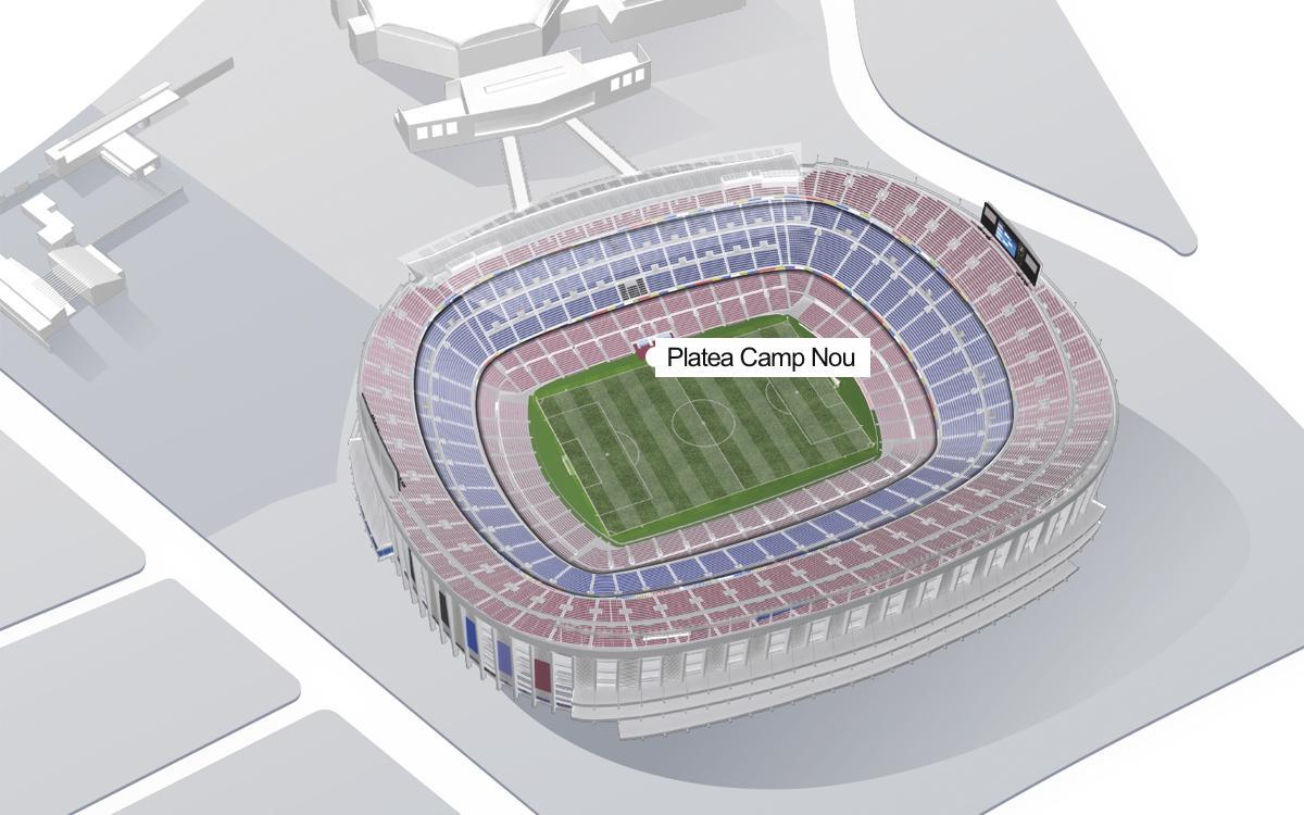 Platea Camp Nou