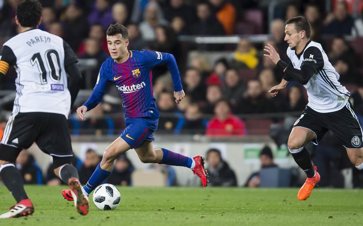 Confirmat l'horari del Barça-València