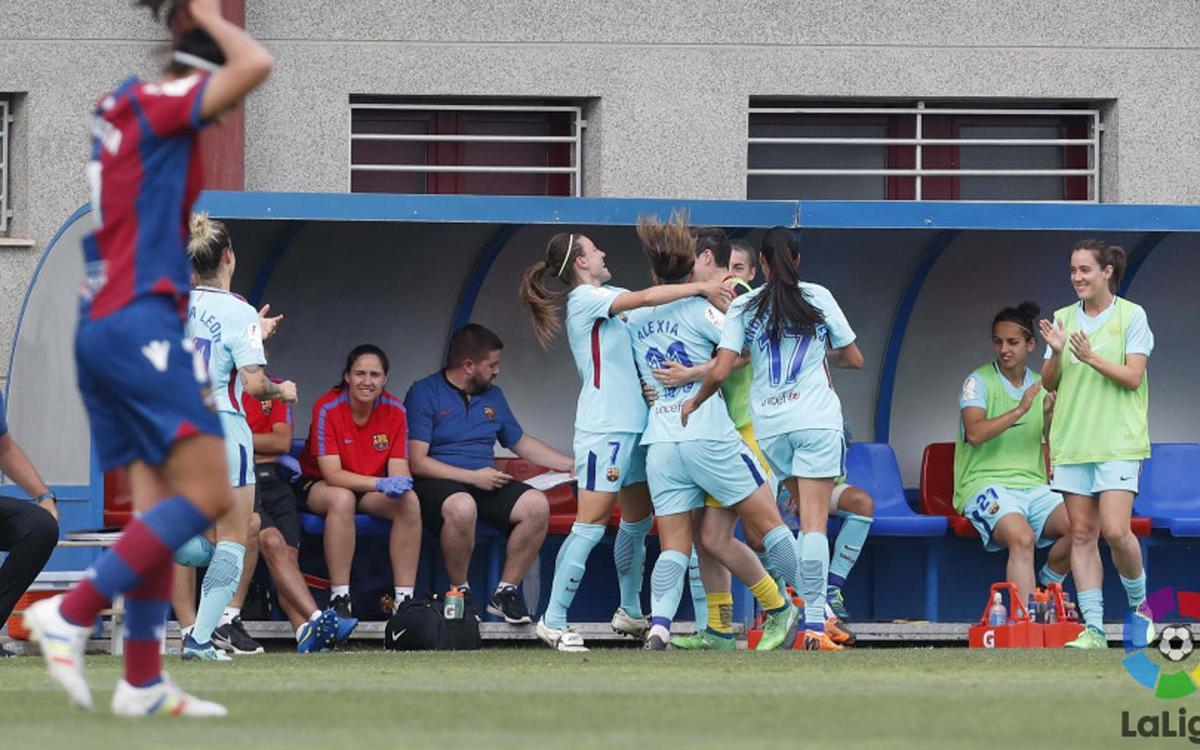 Levante – Barça Women: Alexia is decisive (0-1)
