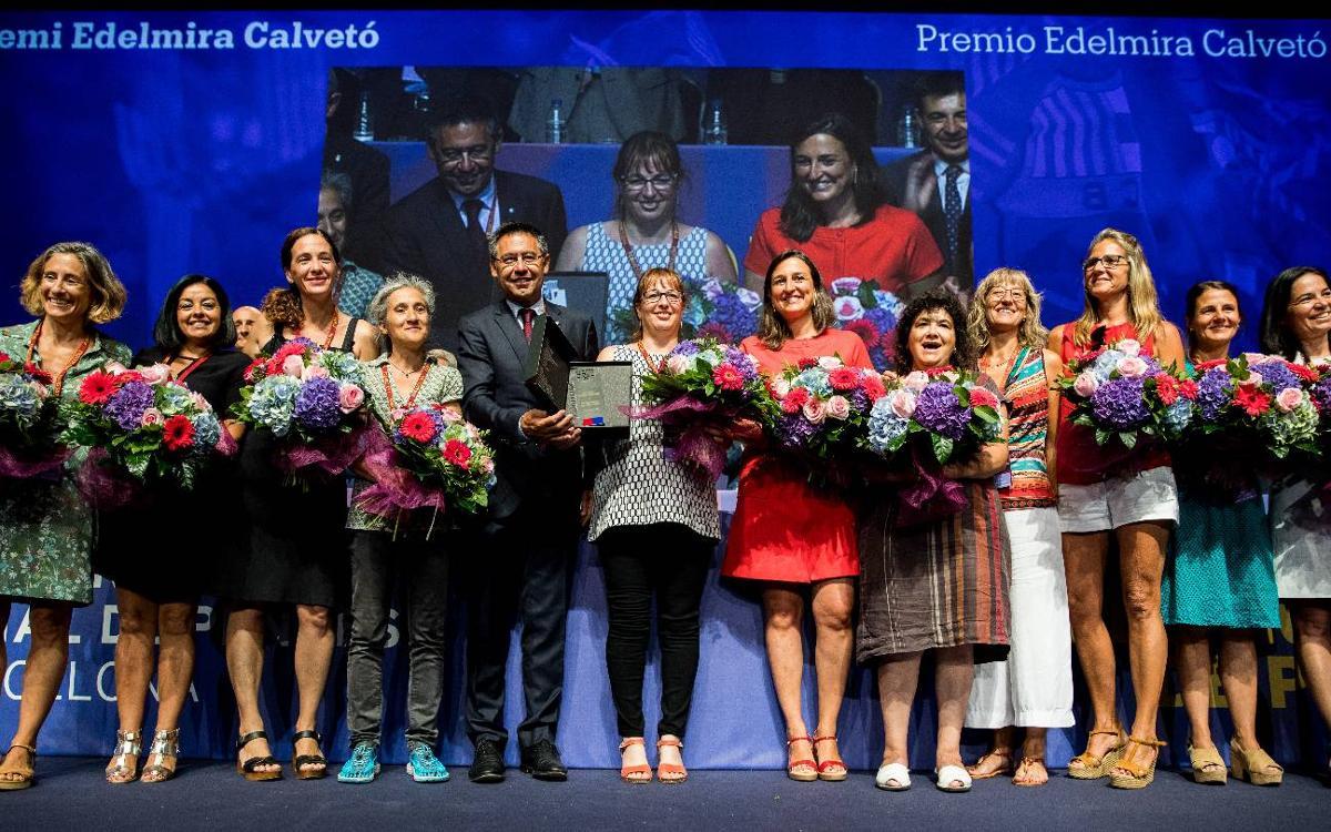 Premio Edelmira Calvetó al equipo de hockey hierba femenino 'Mamis Culeres'
