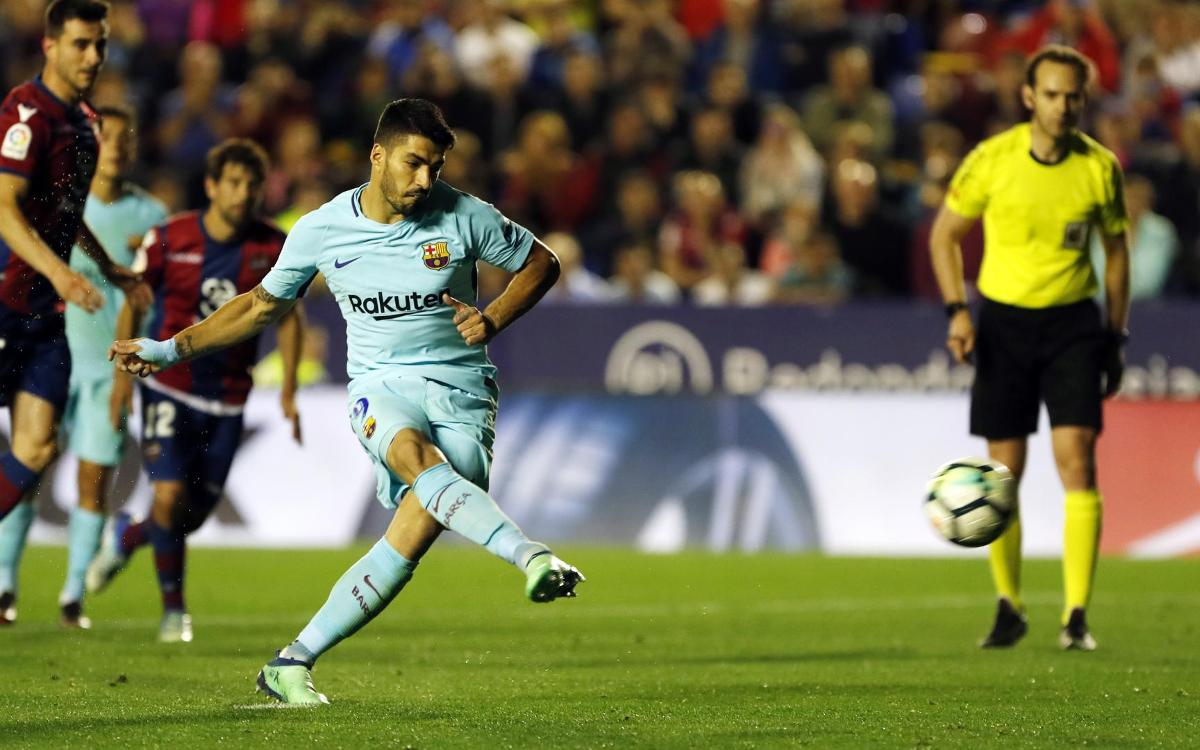 El resumen del Levante-Barça