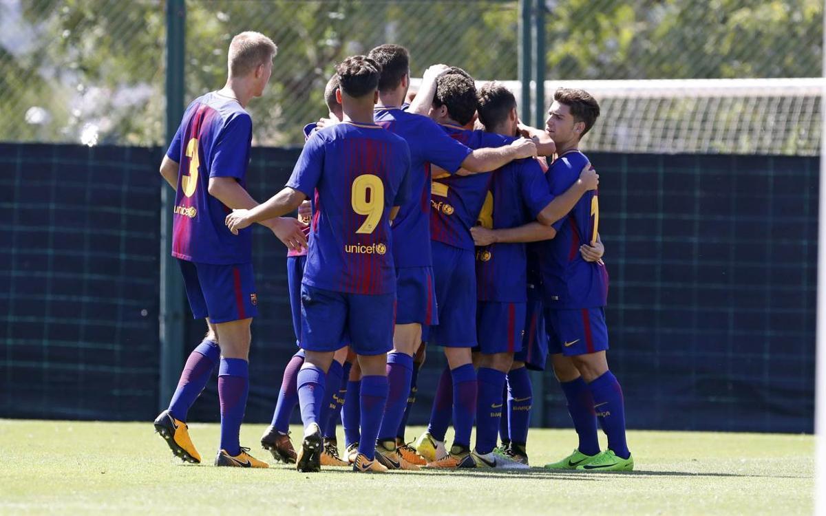 Betis - Juvenil A: Victoria y clasificación para los cuartos (0-2)