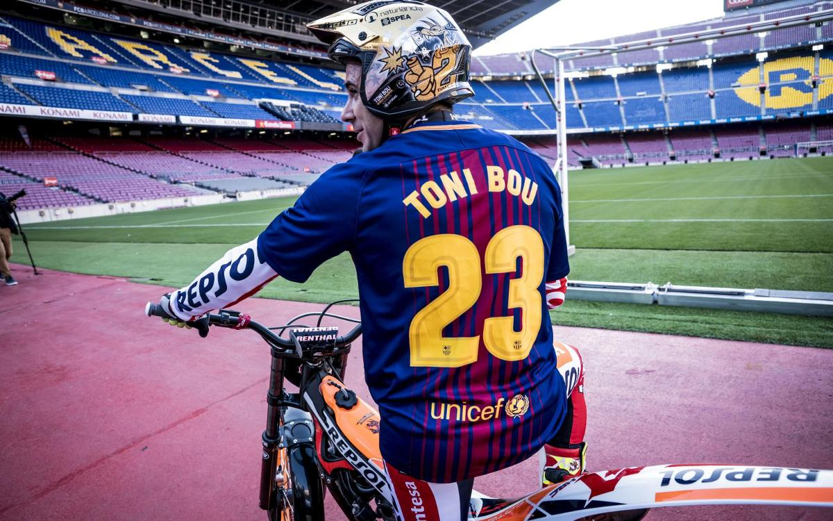 Toni Bou's special training session