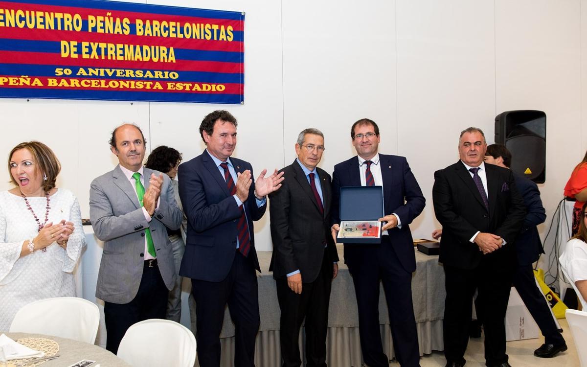 El Barça reafirma su voluntad de diálogo y entendimiento en el encuentro de Extremadura