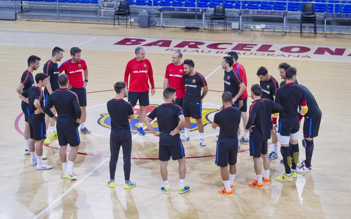 Barça Lassa - ElPozo Murcia: La clave tiene que ser el Palau