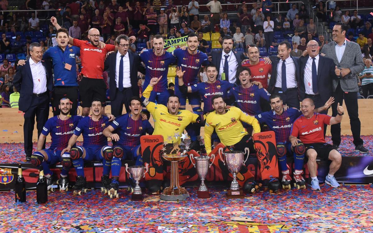 El Barça Lassa termina la temporada en la primera posición del ranking mundial de equipos de hockey