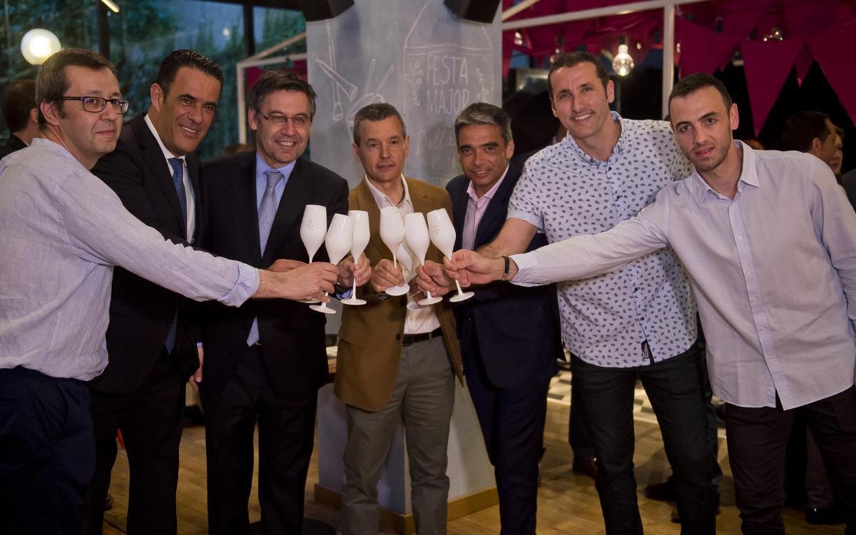 El Barça Lassa celebra el final de temporada con una cena institucional