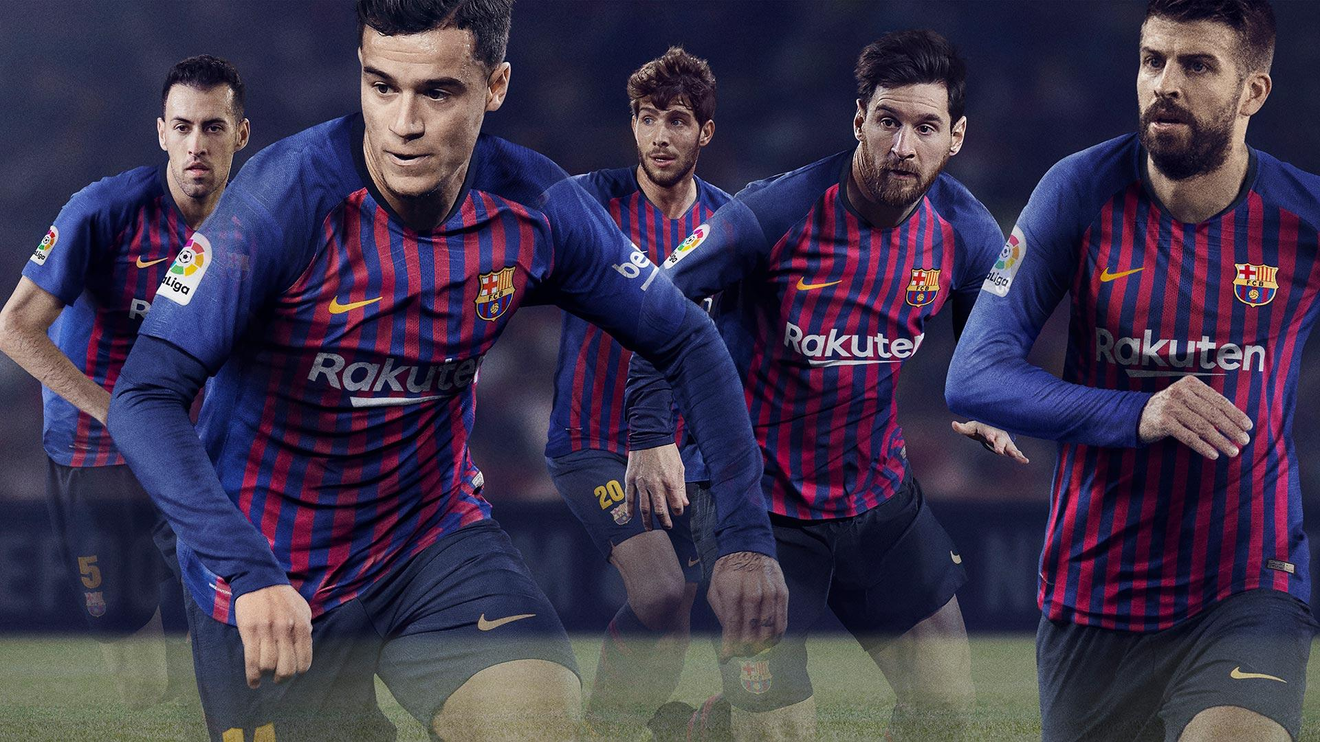 FC Barcelona Unveils New Nike Kit For 2018 19 Season