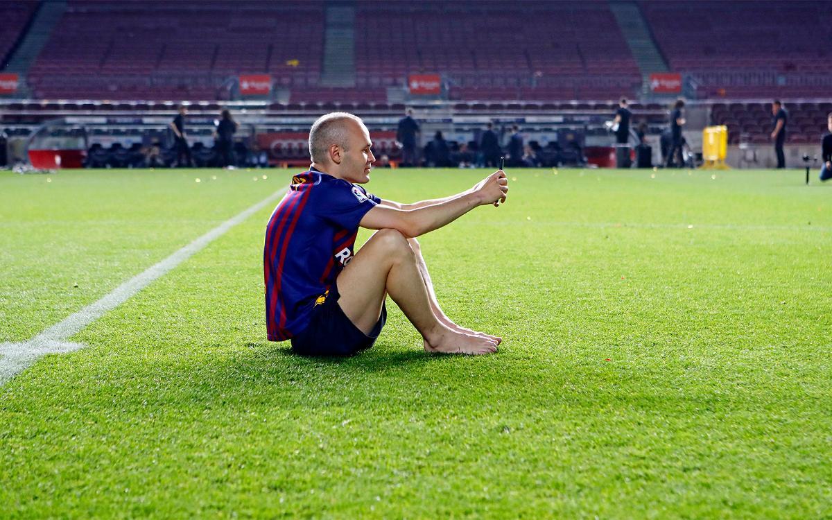 Vidéo - La dernière semaine d'Iniesta au FC Barcelone