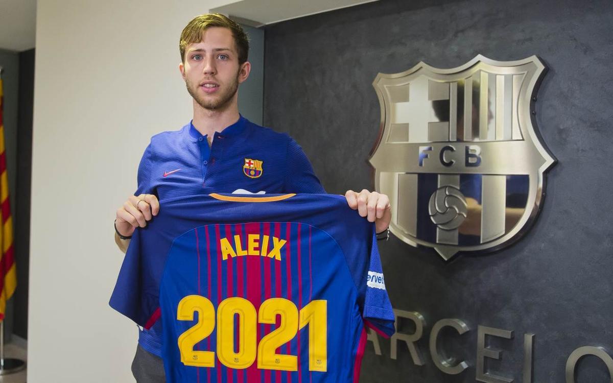 Aleix Gómez, renovat fins al 2021