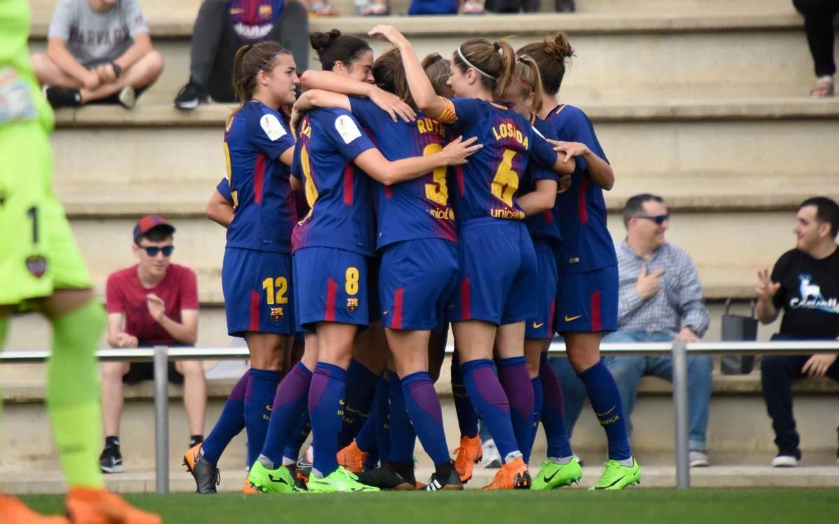 FC Barcelona Women v Levante UD: Good result ahead of return leg (1-0)