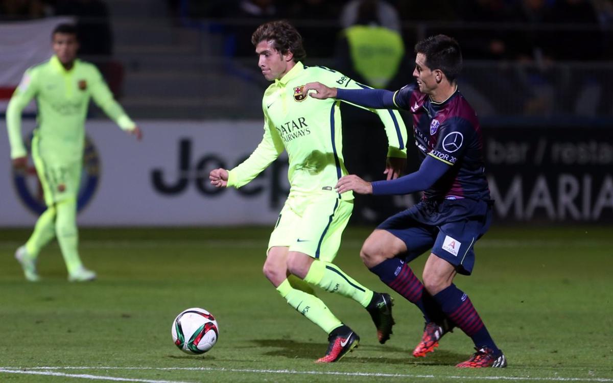 El Huesca, un nuevo rival para el Barça en la Liga