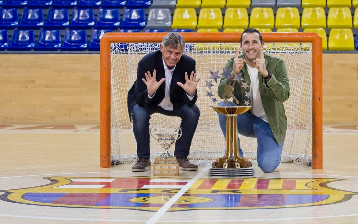 Sergi Centell y Aitor Egurrola, un encuentro de 21 Copas de Europa