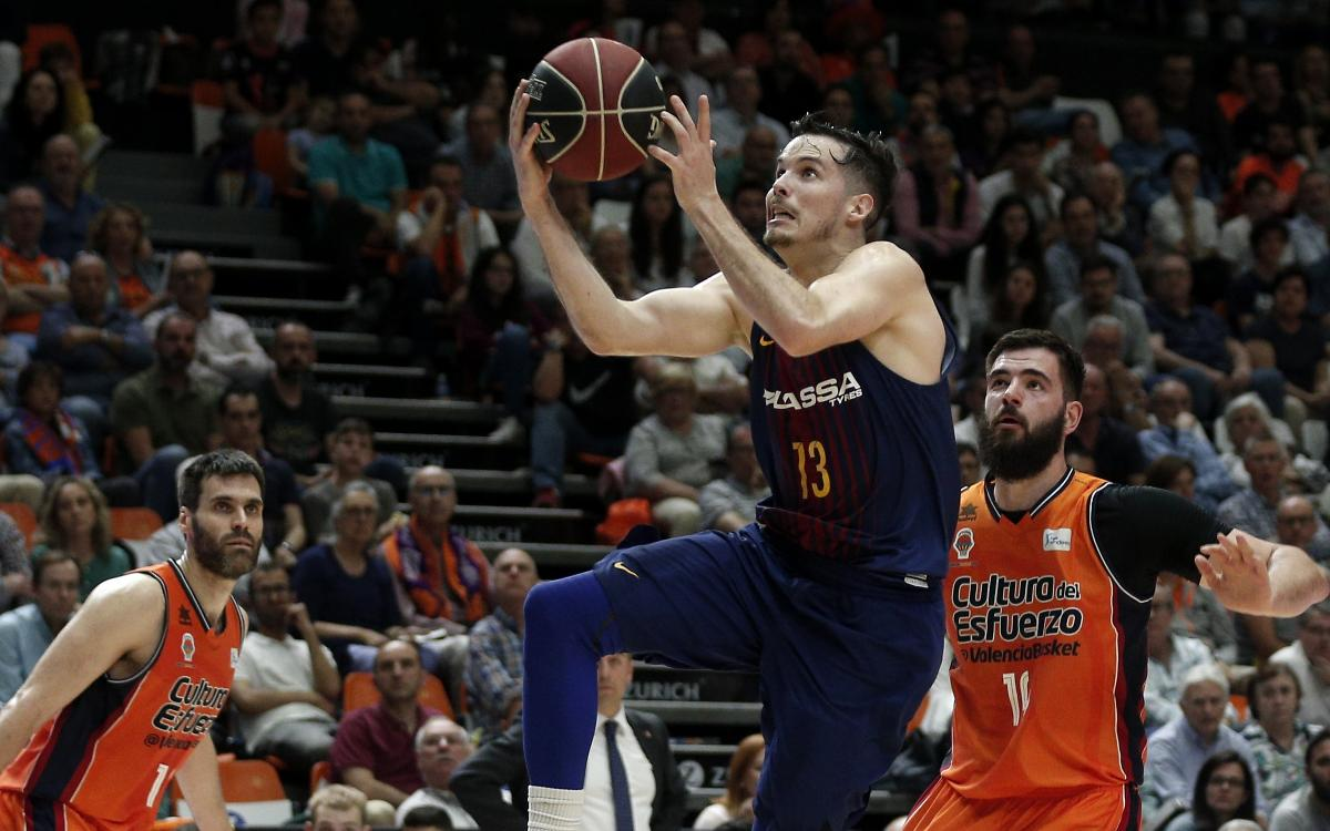 Valencia Basket v Barça Lassa: Win at death secures third place (70-71)