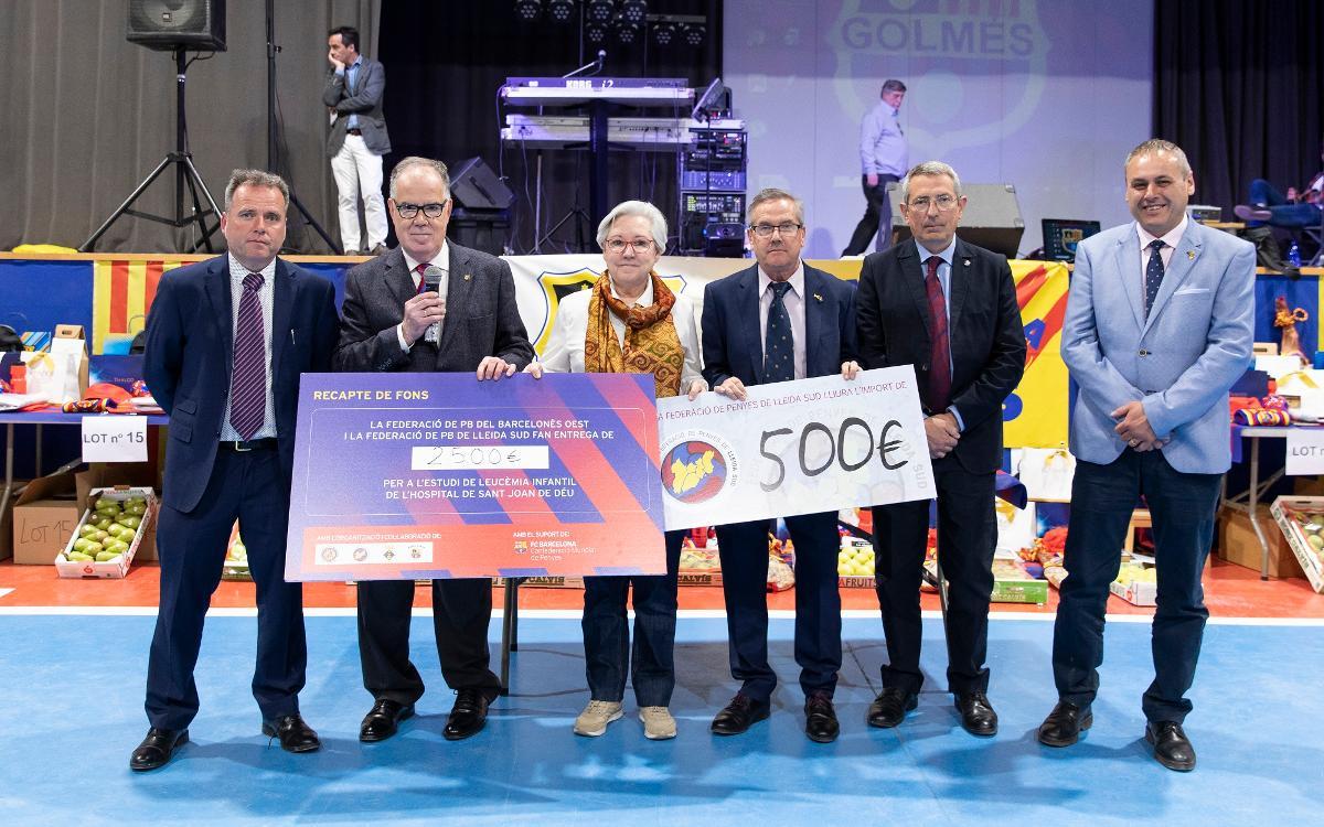 Encuentro solidario de la Federación del Barcelonès Oeste