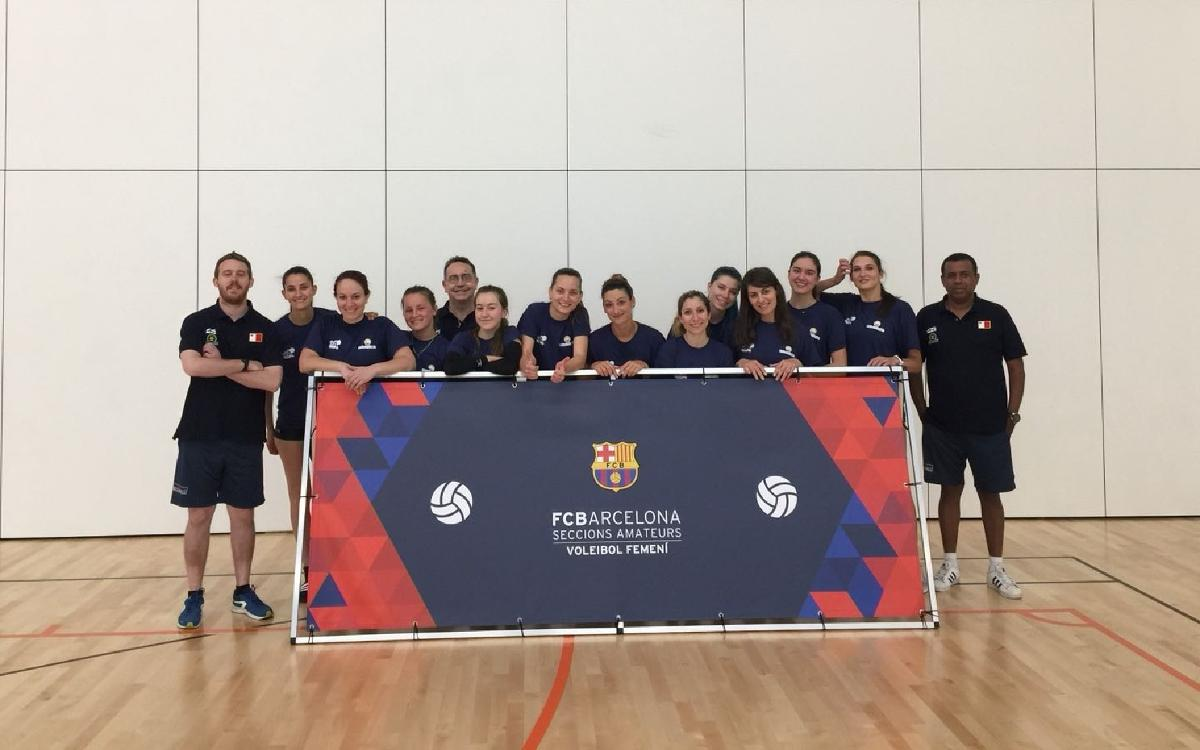 La selección de Malta disputará tres amistosos con el CV Barça