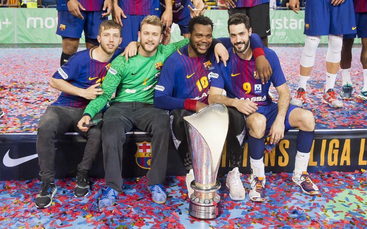 Termina la temporada con seis títulos de siete posibles
