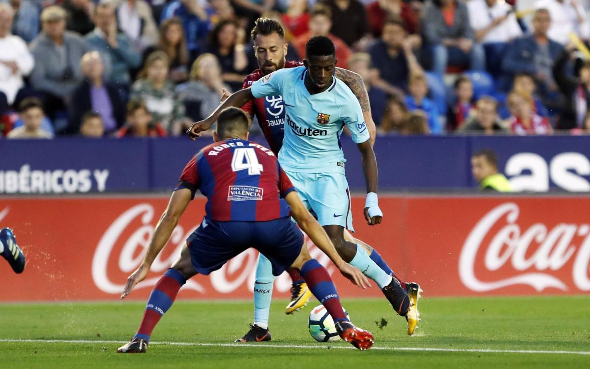 Levante - FC Barcelona (5-4)