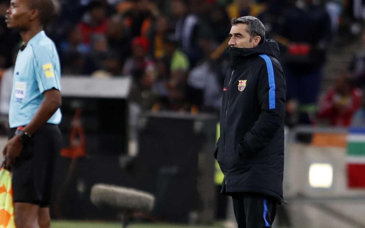 """Valverde: """"El ambiente ha sido fantástico"""""""