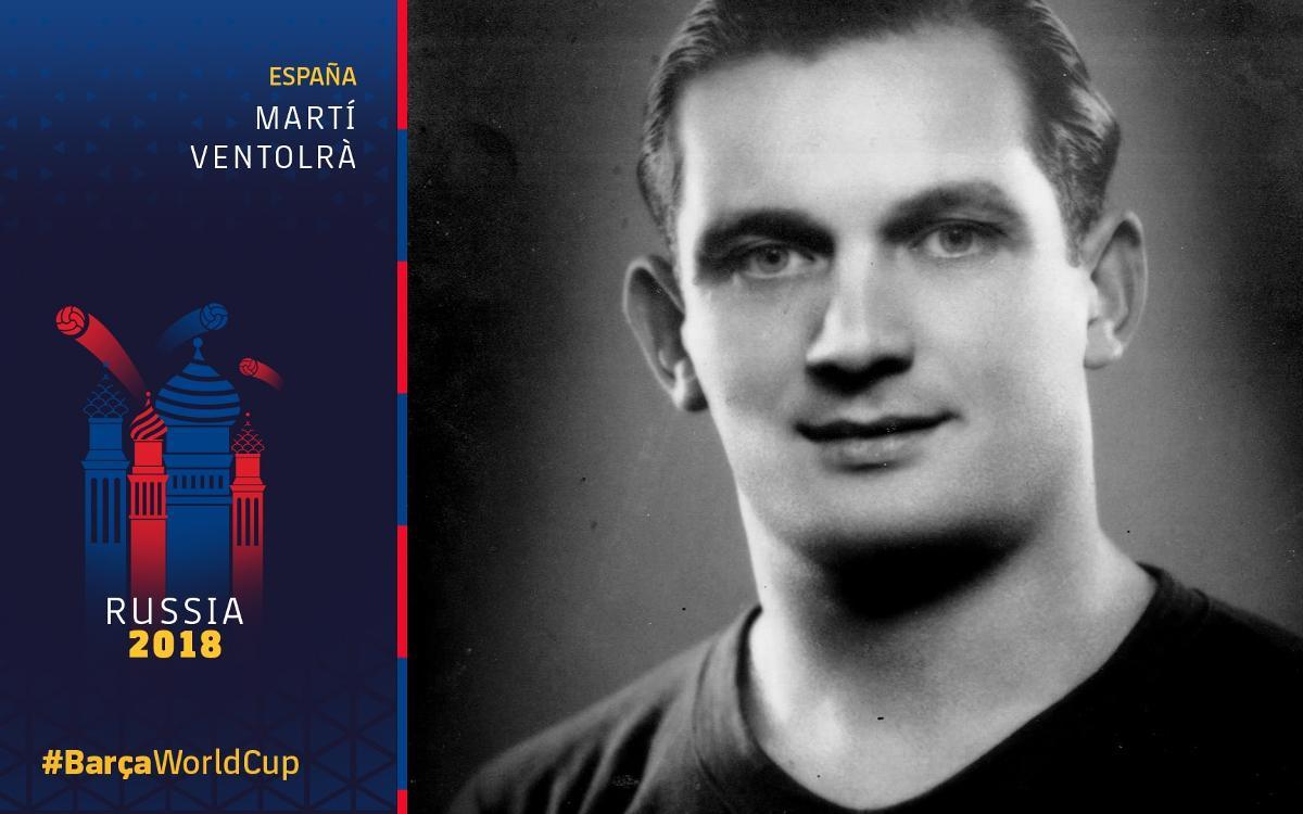 El Barça en los Mundiales: Martí Ventolrà (I)