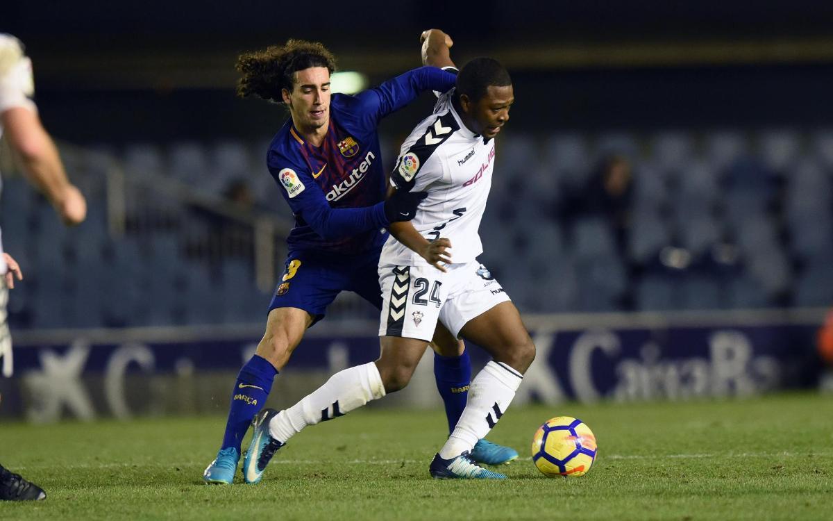 Albacete - Barça B: Sólo existe este partido y estos tres puntos