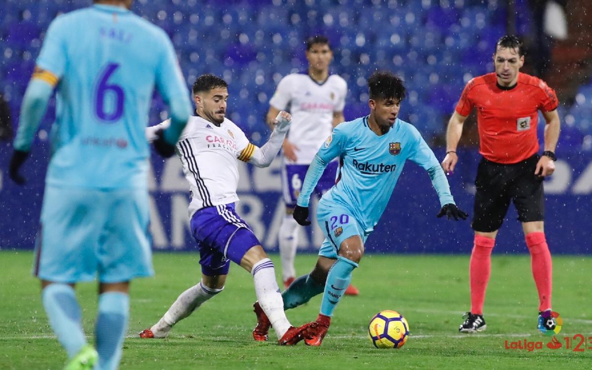 Barça B – Real Zaragoza: Acabar la Lliga amb una alegria