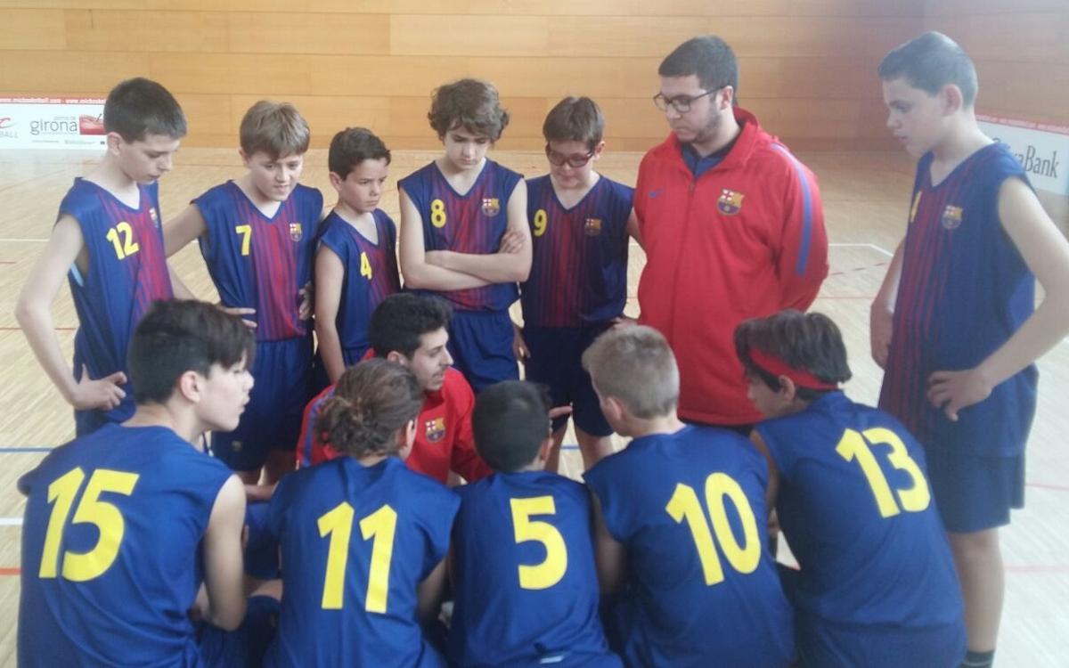Gran paper de l'FCBEscola Basket Barcelona al Globasket i al MIC