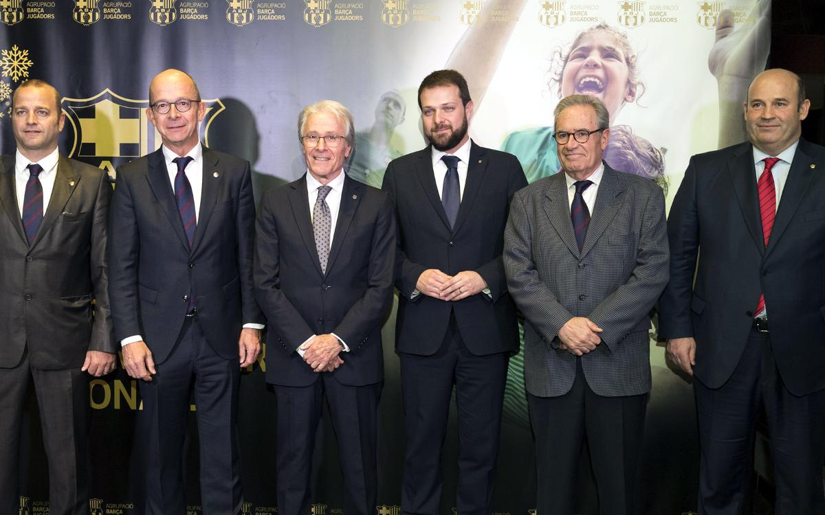 Solidarity, family and Barça spirit at the Annual Association Dinner.