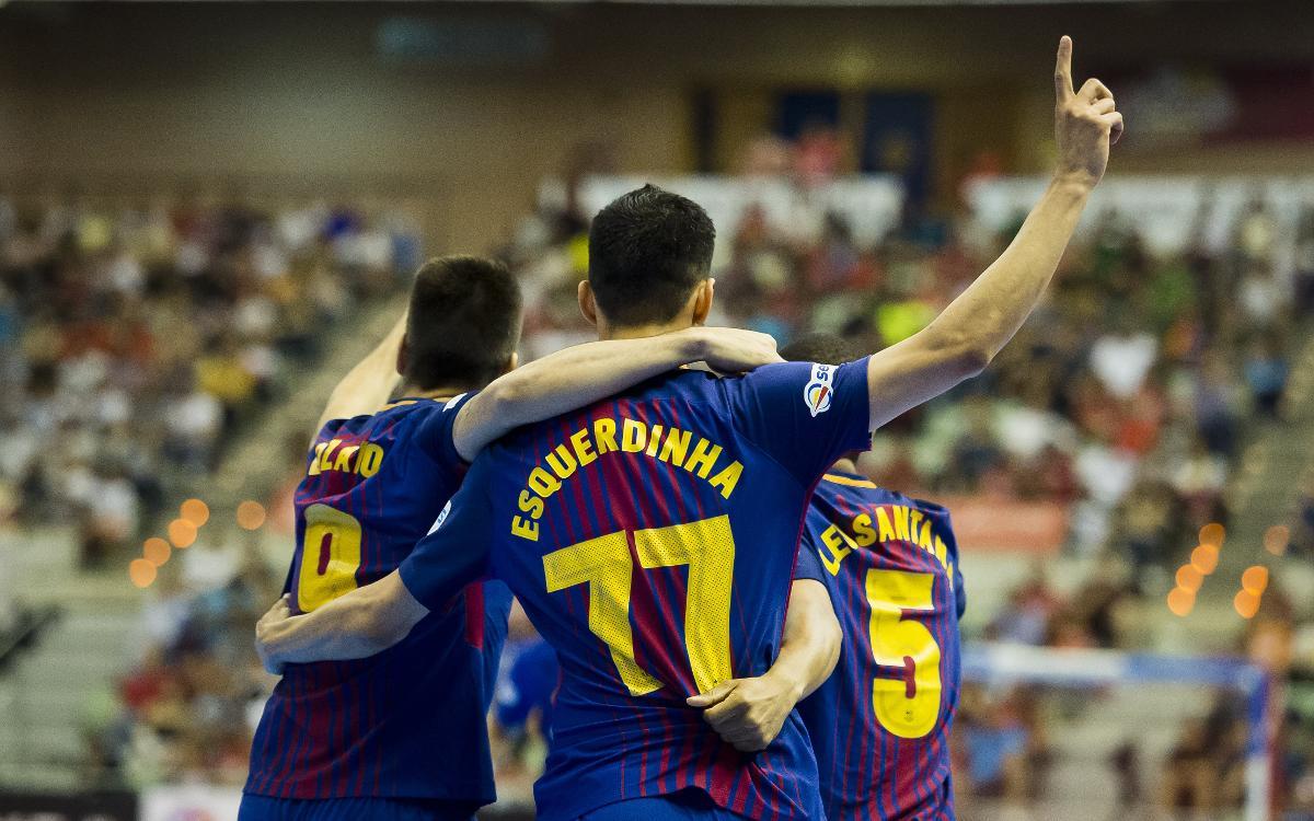 ElPozo Murcia 2-4 Barça Lassa: Double bonus