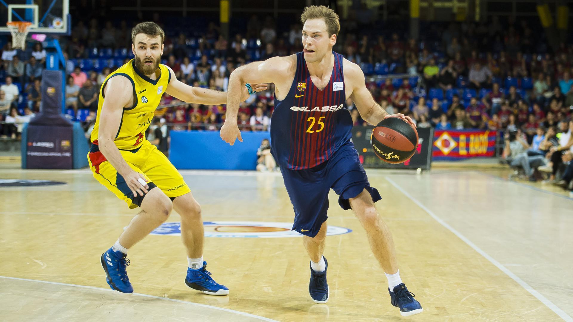 Fc Barcelona Lassa Morabanc Andorra Must Win Game Now In Andorra 76 94