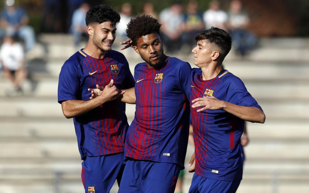 Juvenil B - Cornellà: Victoria clara para acceder a semifinales (3-1)