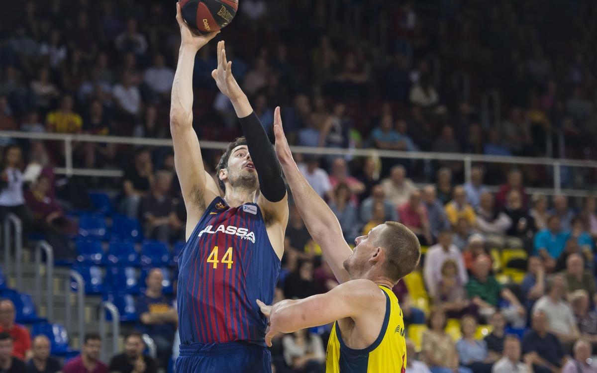FC Barcelona Lassa - MoraBanc Andorra: Las semifinales, en juego en el Palau