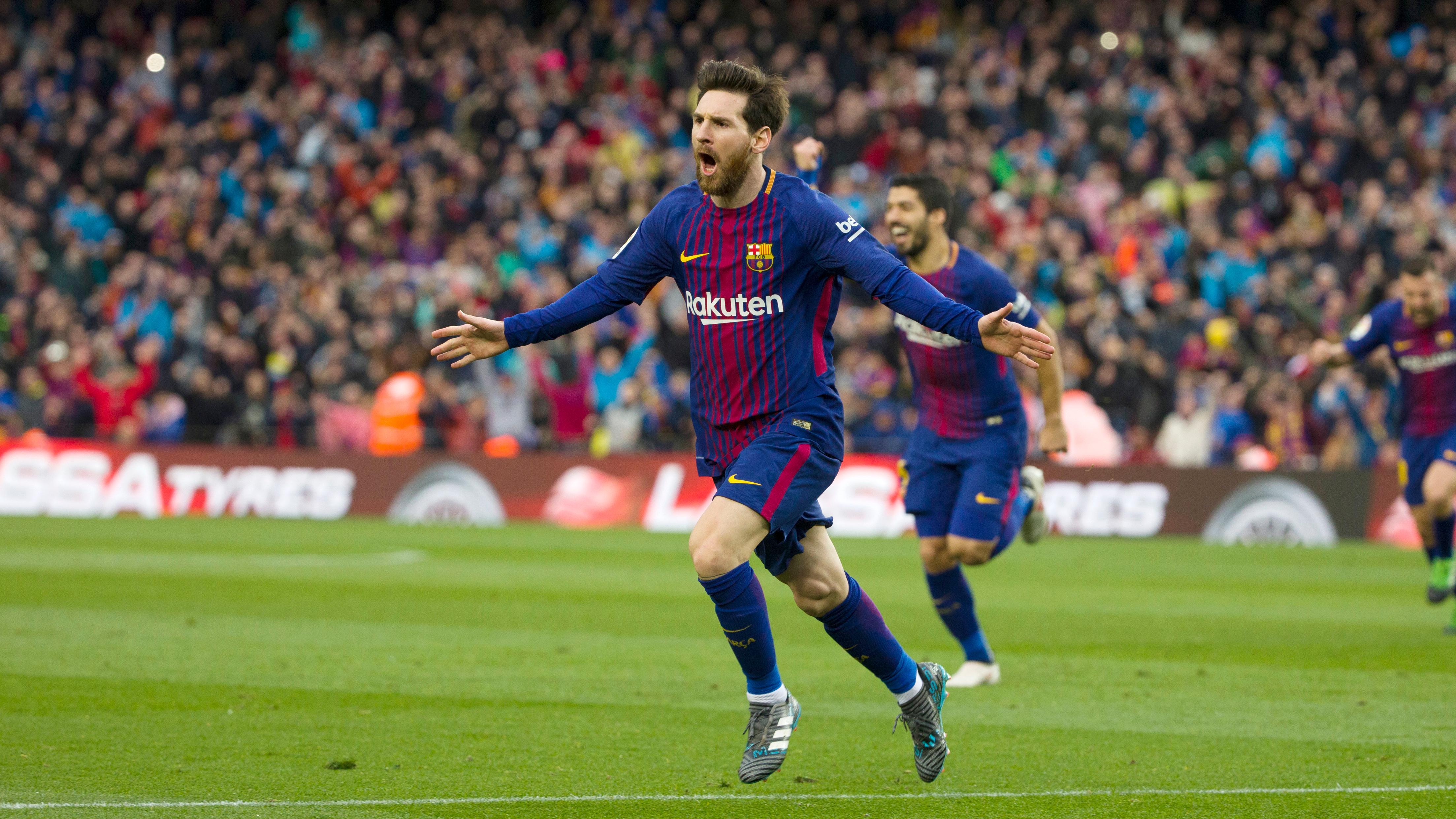Champions League 17//18 Sticker 38 Lionel Messi FC Barcelona
