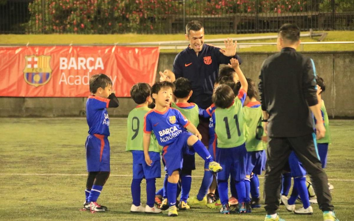 Schools in Japan make name change to Barça Academy