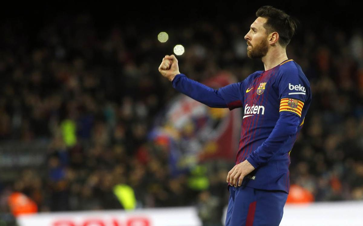 Messi, leader du Soulier d'Or Européen
