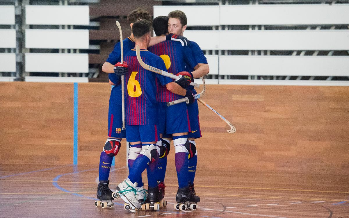 Barça Lassa B Hoquei Patins: A un triomf de l'ascens