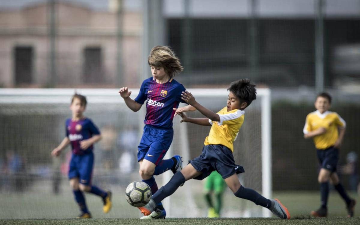 Wild Boars from Thailand invited by FC Barcelona to the Barça Academy World Cup 2019
