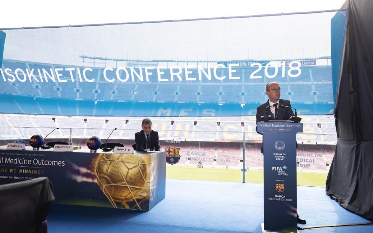 Se inaugura la Conferencia Internacional Sports Rehabilitation and Traumatology