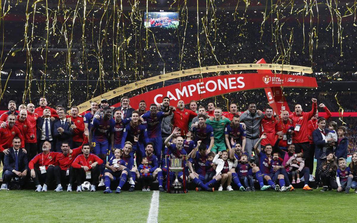 30th Copa del Rey title for FC Barcelona
