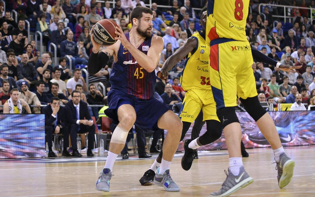 Barça Lassa 94-70 Morabanc Andorra: And the wins keep flowing