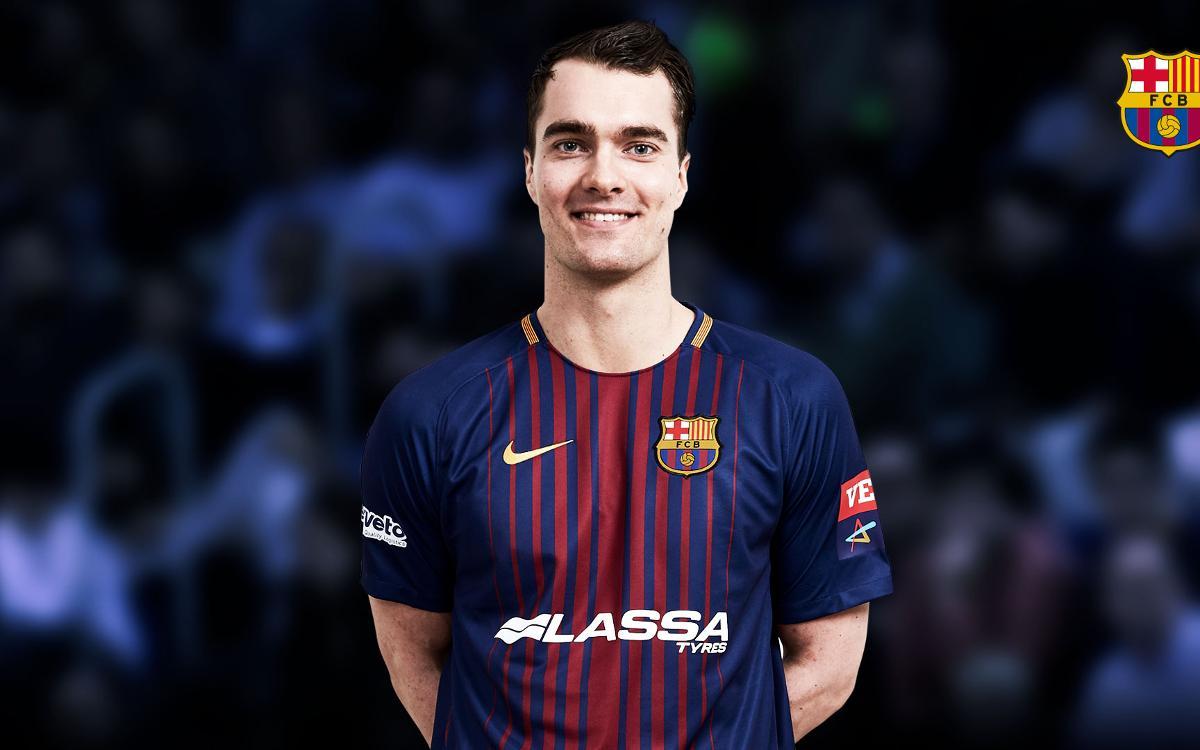 El Barça Lassa incorpora a Casper Mortensen