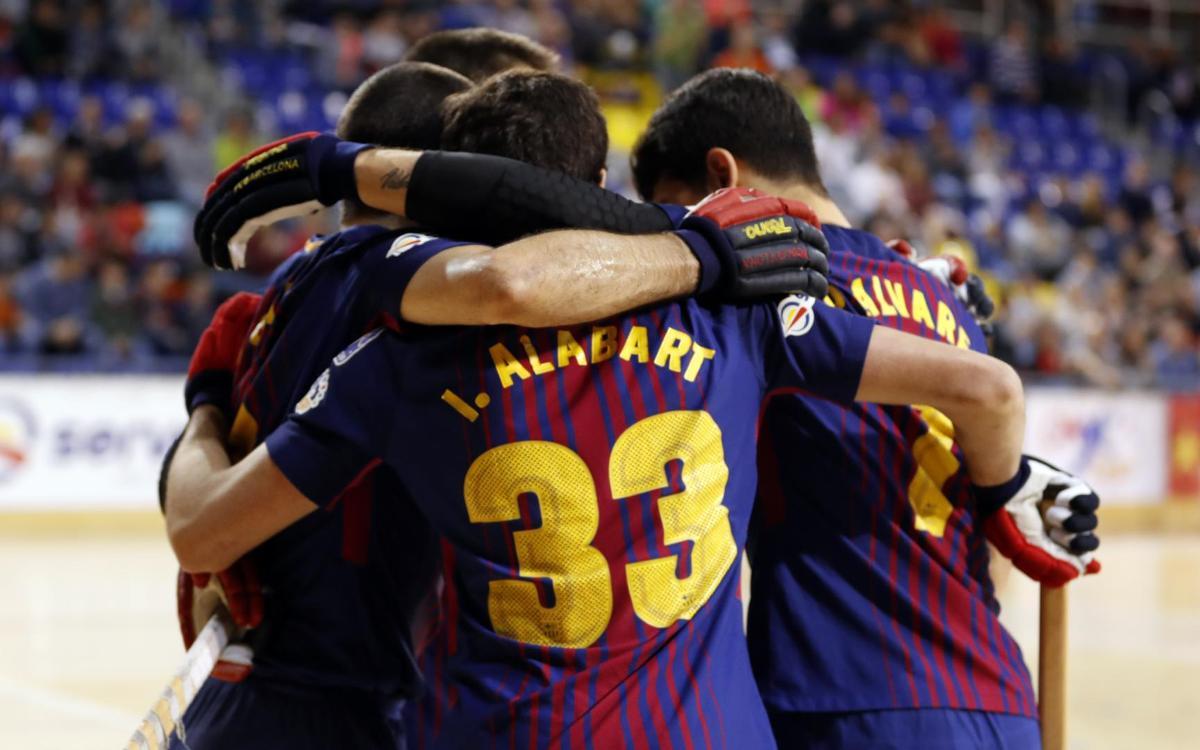 Barça Lassa – CP Vic: Con paso firme hacia la Liga (10-0)