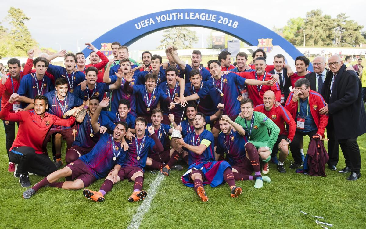 Chelsea v Barça U19A: Youth League Champions! (0-3)