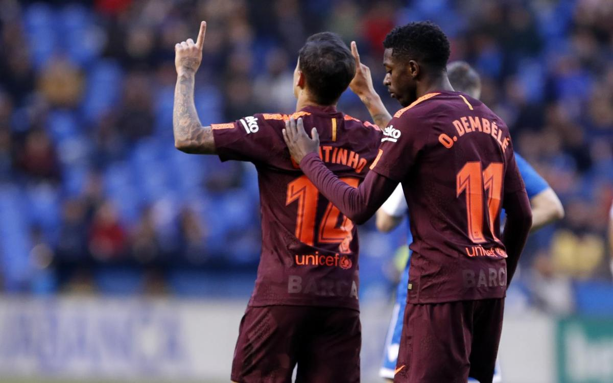 HIGHLIGHTS: Deportivo vs FC Barcelona