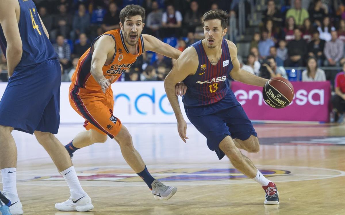 La tercera posición de la Liga Regular pasa por ganar en Valencia